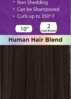 Iconic Human Hair Blend Extensions are Versatile, Affordable and Accessible.